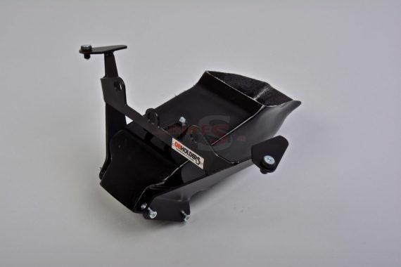 Kawasaki ZX10-R 2016 8. Instrument + fairing holder (duralumin) + air duct racing (5)