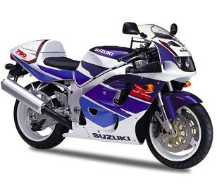 Suzuki GSX-R 600/750 1996 - 2000 SRAD